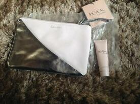 New Calvin Klein make up bag & body lotion