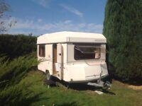 Esterel top volumne folding caravan