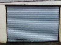 Roller shutter door with electric motor 360 wide 240 high