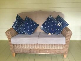 Beautiful quality sofa ideal for conservatory, lounge or bedroom