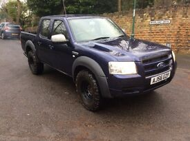 Ford ranger pick up 4x4 double cab 56 reg