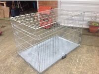 Extra extra large dog cage , possible free delivery