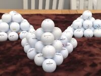 Various brands golf balls good to excellent condition