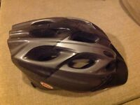 Bell Avanti Universal cycling helmet, black and grey. As new