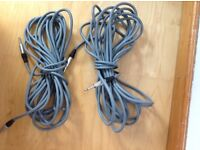 30 ft x 2 Professional Speaker Cables