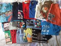 Boys t-shirts aged 6-7yrs
