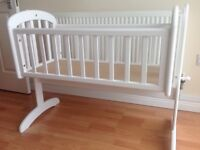 New John Lewis swing crib