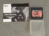 Game Gear Wonder boy Game