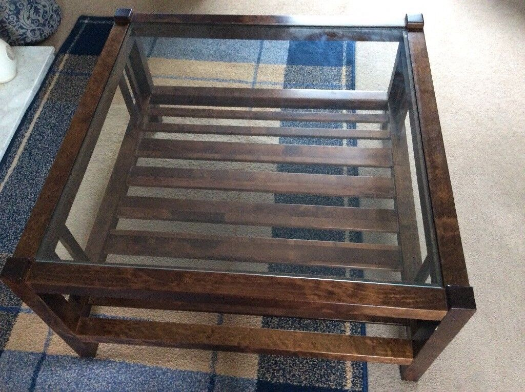 Ashley Glass Coffee Table.Laura Ashley Garrat Coffee Table Glass Top In Kelso Scottish Borders Gumtree