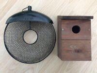 Bird Box and Peckish bird feeder