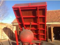3 Ton Tipping Trailer. Complete rebuild. Incl all features including tyres, bolts and timber.