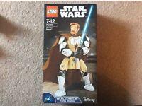 Lego. Buildable Obi Wan Kenobi figure.