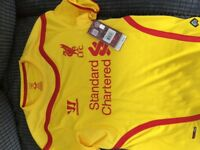 Liverpool shirt, never worn. Tag still on.