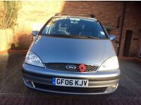 Ford Galaxy tdi for sale one owner 7 seater 56 plate