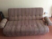 Rest Assured 3 seater sofa bed