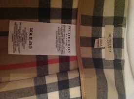 Authentic Burrberry check skirt perfect condition