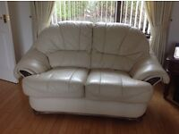 3 Piece Leather Suite. 3 Seater, 2 seater and single seat recliner.