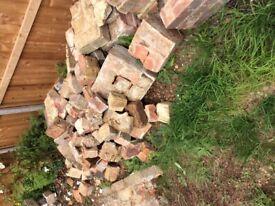 Free bricks and rubble