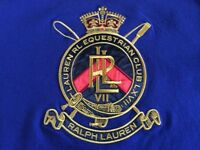 Brand New Genuine Ralph Lauren Polo Womens/Girls Size M EXTREMELY RARE Unique Crest TShirt 100sales