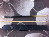 Riley snooker cue , ronnie o Sullivan case