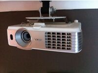 benq projector and electronic screen