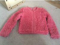 Girls wooly jacket, age 12
