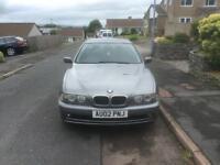 Rare Manual BMW 525dse