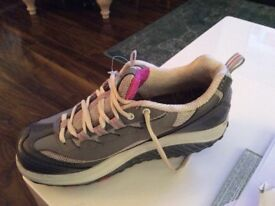 Ladies shape up trainers