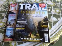 Full year of Trail walking magazines