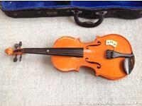 3/4 size Viola in hard case. Ideal for beginner