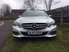 reduced!!! 15 REG new shape!!Absolutely brand-new chauffeur driven Mercedes E220 sport