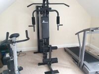 Gym Equipment, treadmill,multigym,bike crunch curl, free weight