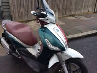Piaggio Beverly 350 st 2015/65 reg heated grips 1890 miles
