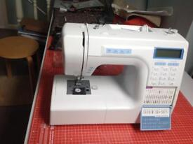 Silver Viscount 8000E Sewing Machine