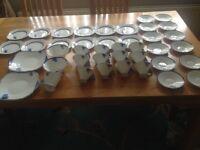 For Sale 41Piece SHELLEY Tea set no (01788)