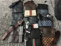 BRAND NEW MENS POUCHES / BAGS