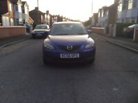 2007 Mazda 3 TS2 1.6 5dr hatchback petrol manual lady owner low mileage full service history £1350