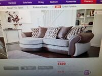 DFS MATIRA RANGE SOFA AND LARGE SWIVEL CHAIR DUE TO HOUSE MOVE ONLY 12 MONTHS OLD --can deliver