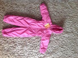 Brand New Regatta Girl's Snowsuit. Age 3-4yrs.
