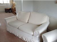 Loose covers for 2 seater Marks and Spencer settees
