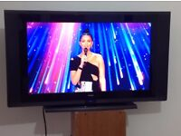 """GOODMANS 32"""" HD.LCD TV . LD3255HD with freeview box"""