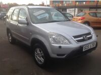 Honda CRV 2.0 sport petrol automatic 53 plate 127000 miles 1 lady owner FSH (12 stamps) MOT ONE YEAR