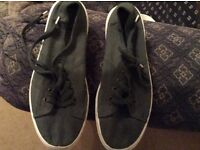 NEXT, ladies lace up canvas shoes size 6, hardly worn.
