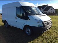 2013 FORD TRANSIT 2.2 TDCI SWB MEDIUM ROOF ONE OWNER NO VAT TO PAY