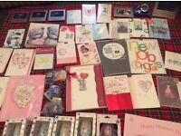 Variety greetings cards for sale