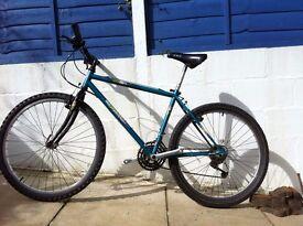 BRC Sierra hybrid mountain bike Medium size, shimano 3 x 7 speed