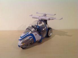 Captain Scarlet - Stallion Raid Bike & Captain Blue
