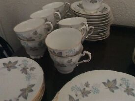 BONE CHINA VINTAGE TEA SET