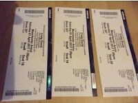 Craig David Following My Intuition Tour 3 x Tickets 2017 Manchester Arena