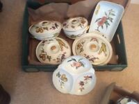 Royal Worcester Evesham dinner ware